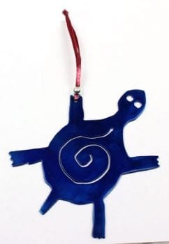 Powder Coated Steel Critter Ornaments
