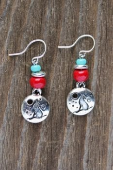 trisha waldron, earring, handcrafted, jewelry,